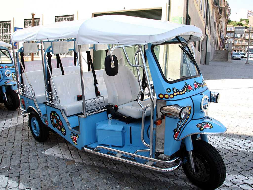 Segredos do Porto: Tuktuk e Teleférico