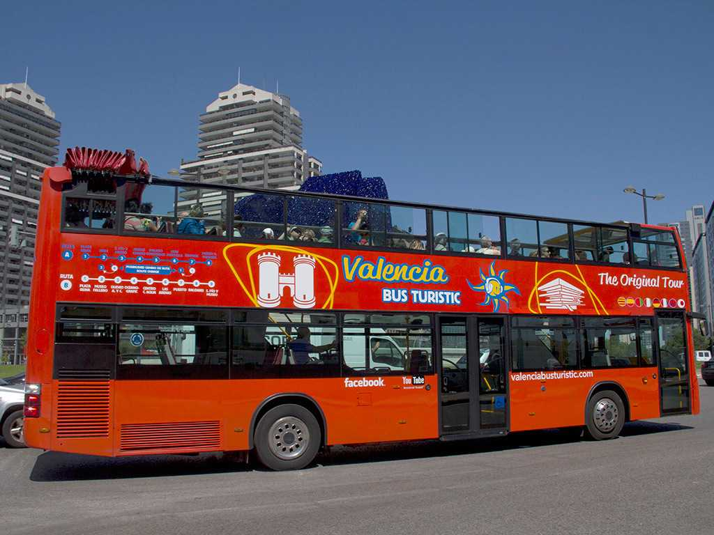 Bus Turístico + Paseo en barca - Valencia
