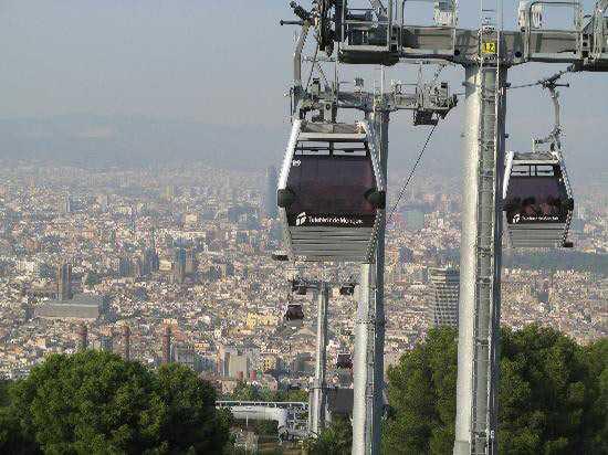 Teleférico Montjuïc