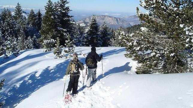 Raquetas de Nieve - Andorra