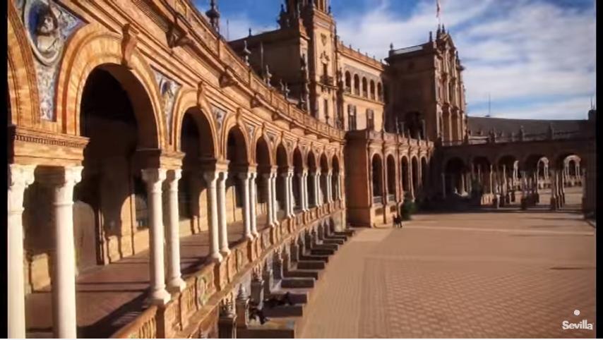 Descubra Sevilla num click