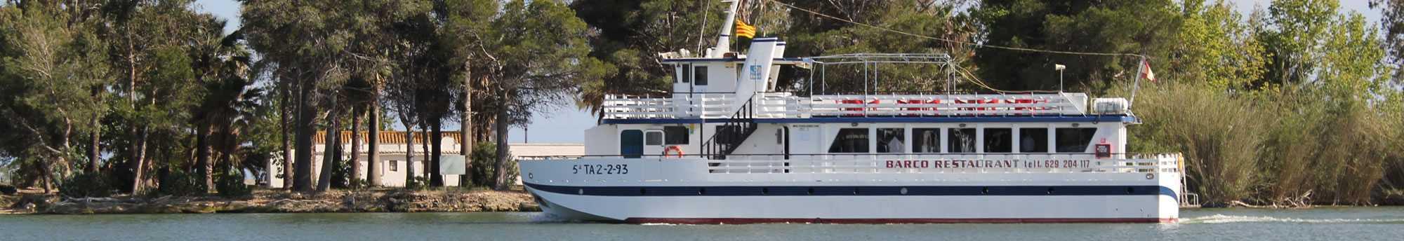 Crucero en el Parque Natural Delta del Ebro